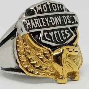 Other - Golden Motor Cycles Biker Harley Davidson Rings